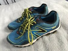 MENS NEW BALANCE MINIMUS 3090 V2 RUNNING SHOES SIZE 10.5 BLUE SC8