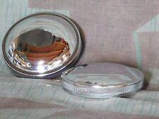 Shovelhead Chrome Fatbob Gas Caps. Late 73 -82. 1 Vented & 1 Non-vented