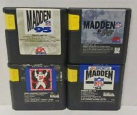 Madden Football 93 94 95 96 - Sega Genesis Working 4 Game Lot Games