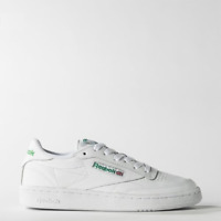 New Mens Reebok CLASSIC CLUB C 85 WHITE / GREEN AR0456 US 7.0 - 10.0 TAKSE