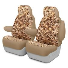 For Hyundai Santa Fe 13-18 Cowboy Camo 1st Row Straw Custom Seat Covers