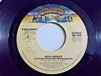 Parliament Aqua Boogie / Water Sign 45 1978 Casablanca Vinyl Record