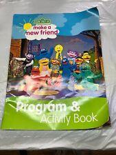 Sesame Street Live Make A New Friend Program And Activity Book