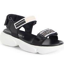 New Auth. Prada Logo Sport Sandals Grip Strap Women's 37/ US 7