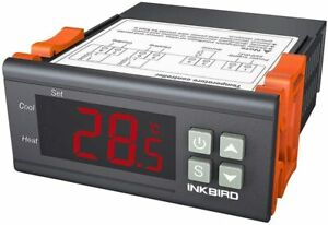 Inkbird Digital Temperature Controller 2 Relay Output Room Thermostat 220V Heat