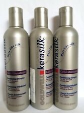 Lot of 3 pcs GOLDWELL Kerasilk Care & Smoothness Conditioning Shampoo 8 oz each