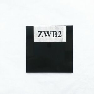 50*50*2.0mm 365nm UV Filter ZWB2 UG1 Visible light cut glass
