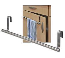 Edelstahl Küchen Handtuch-Halter Handtuchhalter zum Einhängen an Schranktüren