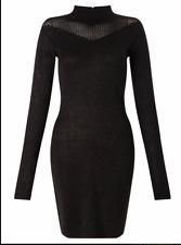 SUPERTRASH DARIKA BLACK DRESS SIZE LARGE RRP- £110