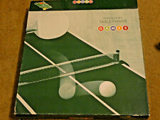 DEBENHAMS TABLE TOP TABLE TENNIS SET - BOXED AND COMPLETE