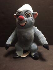 "DIsney Junior The Lion Guard Bunga Blue Plush Stuffed Animal 7"" Honey Badger"