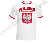Fan Herren-T-Shirts aus Baumwollmischung mit Rundhals