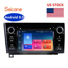 For Toyota Tundra Android 8.0 Car Stereo GPS Navigation DVD Radio Head unit Sat