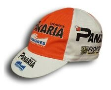 PANARIA RETRO CYCLING TEAM BIKE CAP - Vintage - Fixed Gear - Made in Italy