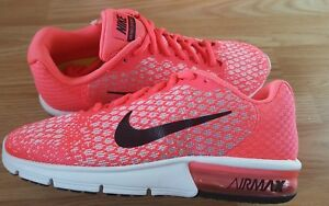 WOMENS NIKE  AIRMAX SEQENT 2 TRAINERS FITSOLE SIZE 5.5 UK 39 EUR