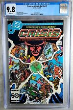 Crisis on Infinite Earths #3 D.C. 1985 CGC 9.8 NM/MT White Pages Comic R0096