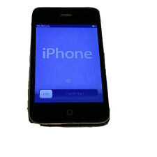 Apple  iPhone 4- 16GB Unlocked  Color Black,  With Cable , Very Good Condition-