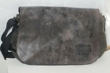 Patricia Nash Men's  Brown/Olive canvas/Leather messenger bag