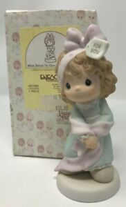 Vintage Fall 1998 Precious Moments What Better to Give Than Yourself 487988 Box
