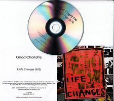 GOOD CHARLOTTE Life Changes 2016 UK 1-track promo CD