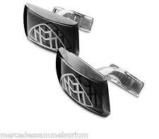 Mercedes Benz MAYBACH Original Manschettenknöpfe Glas/Rhodium Neu OVP