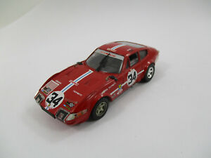FERRARI 365 GTB-4 #34 LE MANS 1972 TOP MODEL 1/43