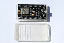 Ready To GO+Deauther WIFI Clear Case NodeMCU Lua ESP8266 ESP-12E CH340G Flashed
