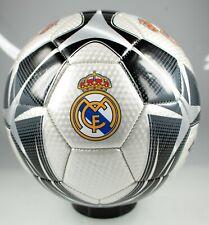 Color Negro Real Madrid Bal/ón de f/útbol 26 Paneles, tama/ño 5