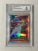 HARRISON BADER 2018 Optic HOLO SP RC REFRACTOR! BGS NM-MT 8! #54! CARDINALS!