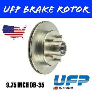 UFP 9.75 INCH TRAILER BRAKE ROTOR