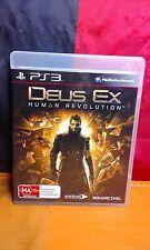 Deus Ex: Human Revolution - Sony PS3 PAL - Includes Manual