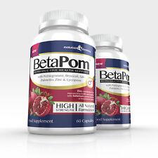Integratore Prostata betapom CON MELOGRANO, zinco & steroli vegetali (60 Capsule)