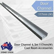 Door Channel 117mm (W), 6.5m (L), Coolroom Accessories Sydney Lidcombe