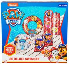 Paw Patrol 3D Deluxe Swim Set Inflatables Swim Ring Armbands Beach Ball Float