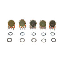 5pcs 10K Single Linear Potentiometer with Nuts and Washers for Arduino