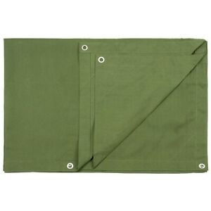 BUSHCRAFT Outdoor Multifunctional Sturdy CANVAS TARP Shelter 10x12 FT New Made