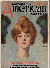 1913 American November - Panama Canal; Flying by Ida Tarbell;Flagg;Schoonover