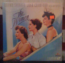 laserdisc  norma shearer THE WOMEN    LD laserdisc NEW barcode has red marker