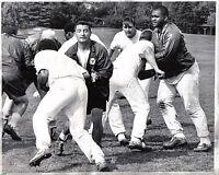 1968 Football  Wire Photo, Chicago Bears Practice, Dick Butkus, Frank Cornish