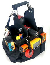 28 Pocket Electrician Tool Carrier w/shoulder strap 600D polyester *NEW*