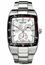 Kenneth Cole Reaction KC3766 Silver Tone Days Gone By Men's Watch