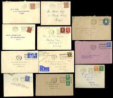 GB 1932-52...15 COVERS...BRITISH INDUSTRIES FAIR POSTMARKS