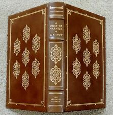 C P SNOW A Coat of Varnish FRANKLIN LIBRARY LEATHER BOUND Limited FIRST EDITION