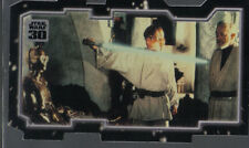 STAR WARS 30TH ANNIVERSARY TRIPTYCH MASTER AND APPRENTICE CARD PIECE 2