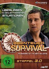 Bear Grylls ABENTEUER SURVIVAL  Ausgesetzt in der Wildnis 2 DVD Box 3.0