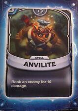 Skylanders Battlecast Collector's Card Spell Anvilite
