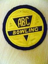 Patches-ABC Bowling Patch (9.5x9.5cm)