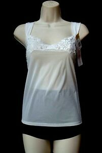 Original Shadowline Deluxe Cosmo Creme Cami Size Large
