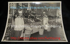 Vintage American Grocery Store Photograph 8x10 Black&White Interior Grocery Pic