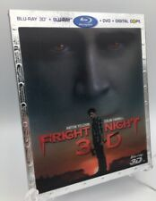 Fright Night 3D (Blu-ray 3D+Blu-ray+DVD+Digital, 2011) NEW OOP w/ Lenticular